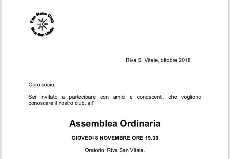 Stagione 2018-2019 pronta al via!